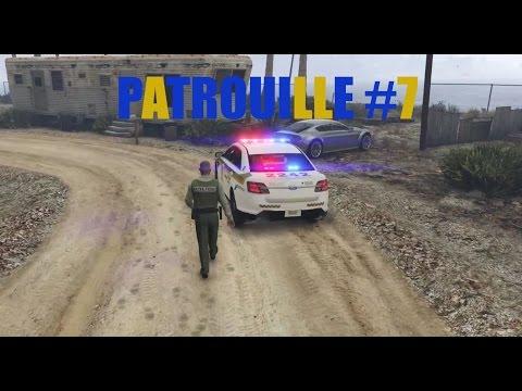 GTAV 911QC PATROUILLE #7 (SÛRETÉ DU QUÉBEC)