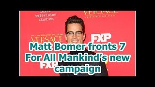 Matt Bomer fronts 7 For All Mankind's new campaign