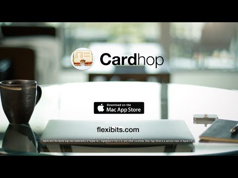 Cardhop for Mac - the contacts app you'll actually want to use