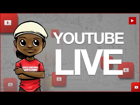 🔴 How to Go Full Time on YouTube! YOUTUBE LIVE Q&A