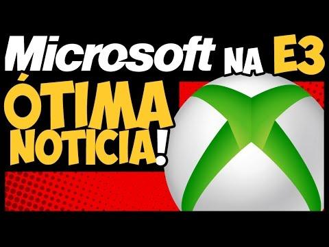 ÓTIMA NOTÍCIA sobre a MICROSOFT NA E3! NADA de HALO 6! 😅 (ENTENDA!)