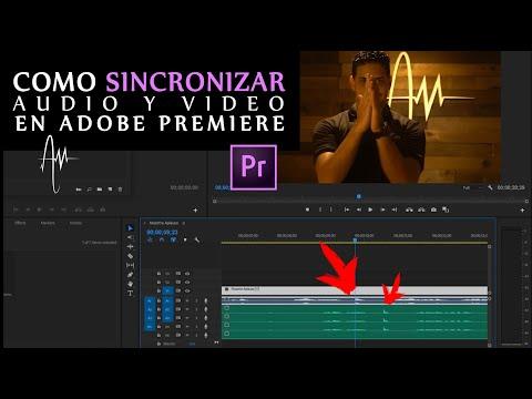 Tutorial Como Sincronizar Audio y Video | Adobe Premiere Pro thumbnail