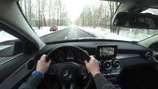 Mercedes Benz C Class C200 4K POV Test Drive