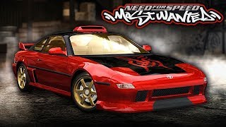 NFS Most Wanted | 1995 Toyota MR2 Mod Gameplay [1440p60]
