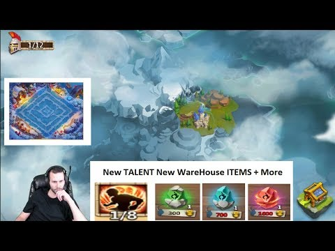 New Christmas UPDATE Huge Changes New TALENTS Castle Clash