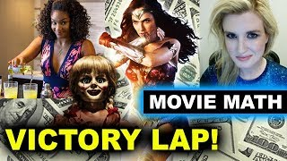 Box Office - Wonder Woman $800 Million, Girls Trip $100 Million, The Conjuring Universe ONE BILLION