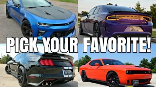 CAST YOUR VOTE! Best Sounding Exhaust Game! (Ford vs Chevy vs Dodge)