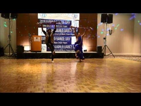 P04 UNESCO CID World Dance Day 2018 Toolieka Prakash & Nilesh Nanaware Bollywood \