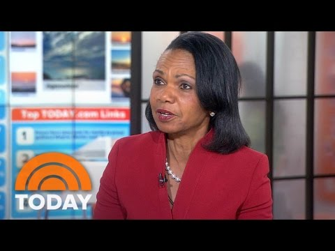 Condoleezza Rice: Increasing Troops In Afghanistan 'Doesn't Make Sense' Without New Strategy | TODAY