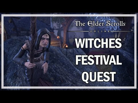 The Elder Scrolls Online - Witches Festival Event Quest Gameplay