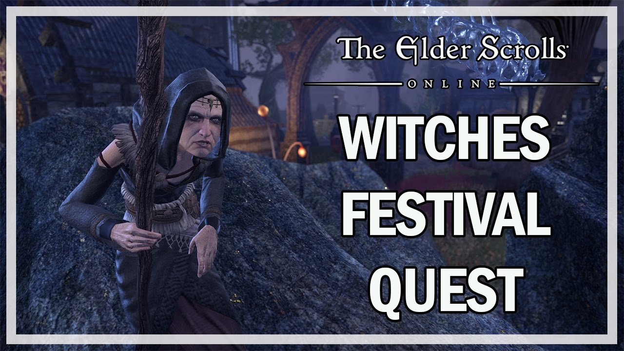 Witches Festival 2020 Eso The Elder Scrolls Online   Witches Festival Event Quest Gameplay