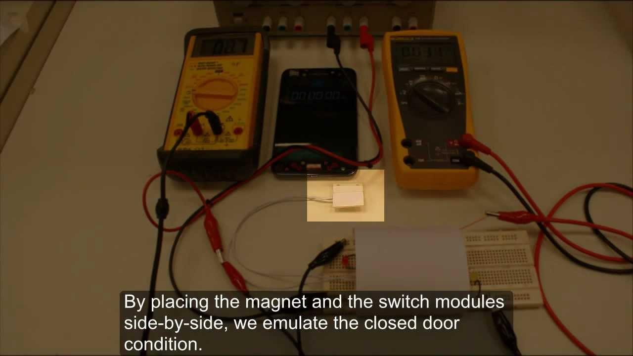 Refrigerator Door Alarm Project Youtube Circuit