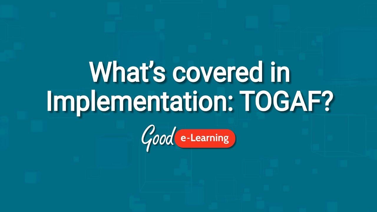 Implementation Togaf 9 Training