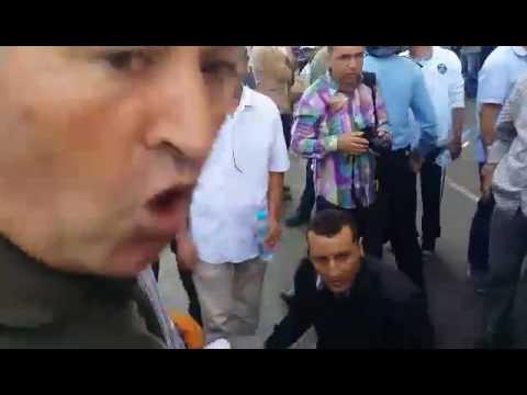 خطير: بنكيران يأمر رجال الداخلية بقمع مسيرة تنسيقية خطة اسقاط التقاعد التي نضمت في الرباط، إصابات خطيرة وحالة غضب شديد بين المتضاهرين