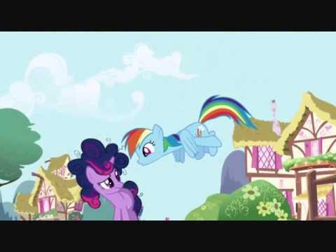 My Little Pony:FIM - Twilight Meets Rainbow Dash