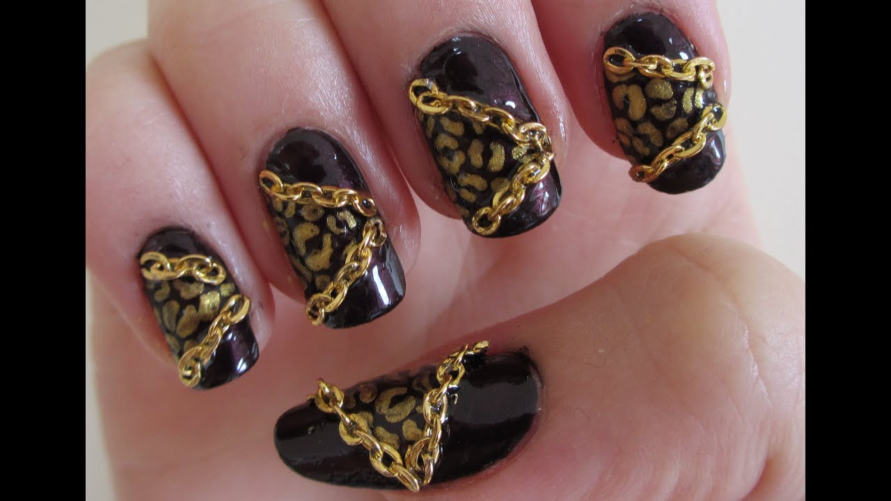 Chain Nail Art Best Nail Designs 2018