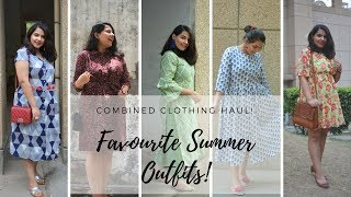 My Favourite Summer Outfits | Comfortable & Wearable! | Combined Haul - Central, Ajio, Myntra