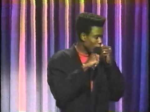 Chris Rock on Comic Strip Live circa 1990