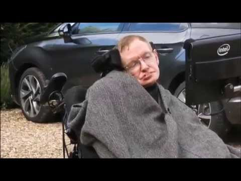 Stephen Hawking - ALS Ice Bucket Challenge
