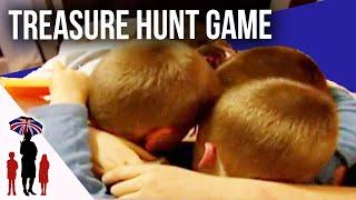 Kids Work As Team In Treasure Hunt - Supernanny UK