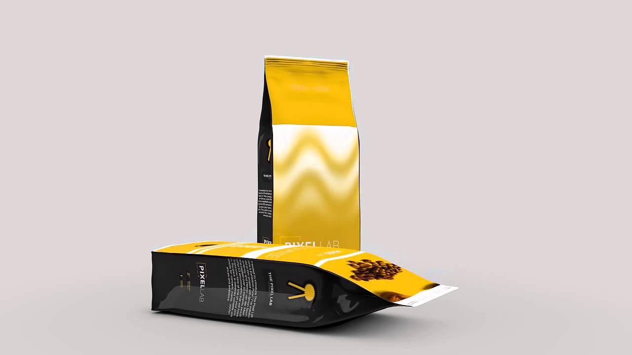 Free C4D 3D Model Coffee Bean Bag