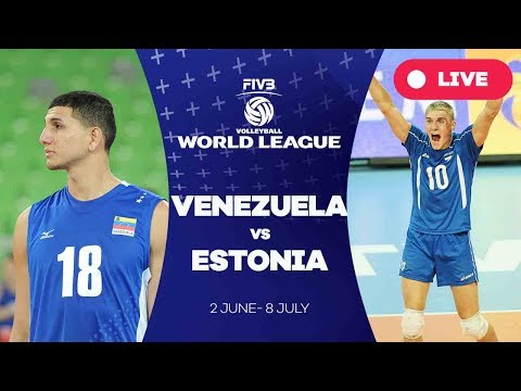 Venezuela v Estonia - Group 3: 2017 FIVB Volleyball World League