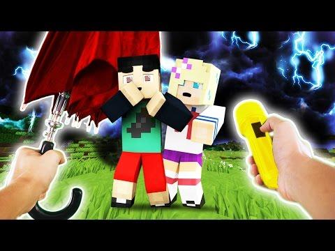Realistic Minecraft School - TORNADO STORM!
