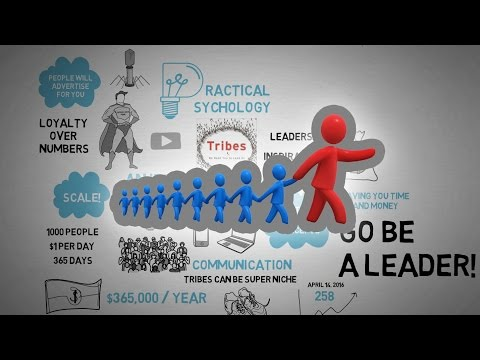 Tribes: We Need You To Lead Us - Seth Godin - Animated Book Review