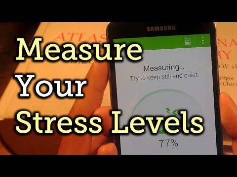 Monitor Stress Levels Using the Heart Rate Sensor on Your Samsung Galaxy S5 [How-To]