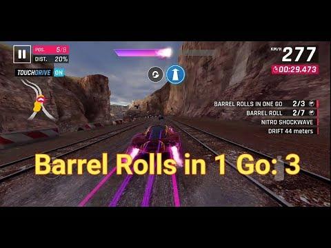 ASPHALT 9: [Barrel Rolls In One Go: 3] Exotic Rides W70