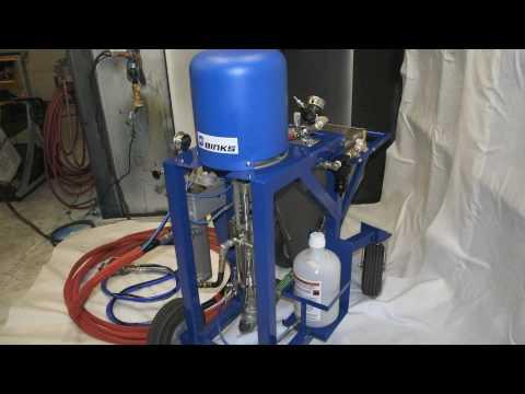 Spray Equipment V-Hog Vinyl Ester Spraying System
