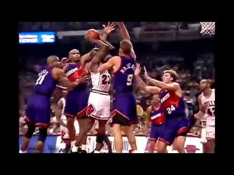 8280b472af70 Michael Jordan Drops 55 Points - 1993 Finals Game 4 vs Suns - Full Game  Highlights - NBA - YouTube
