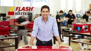 Flash Battery - Lithium batteries for industrial machines and electric vehicles