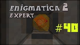 Minecraft 1.12.2 Enigmatica 2 Expert Mode Skyblock #40 Reaktor odpalony i FAIL