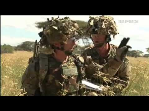 Royal Artillery Create Thunder in Kenya 24.06.13