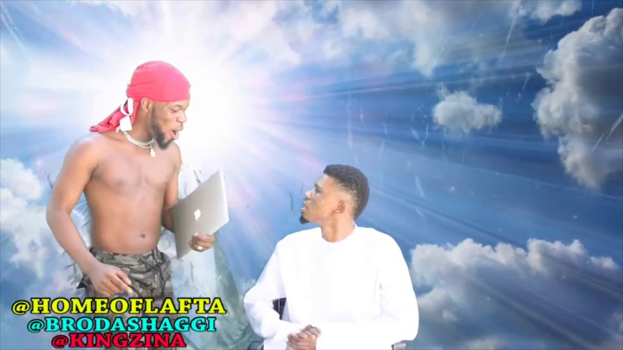 BRODASHAGGI ARRESTED ANGEL GABRIEL IN HEAVEN #brodashaggi #comedy #laughs