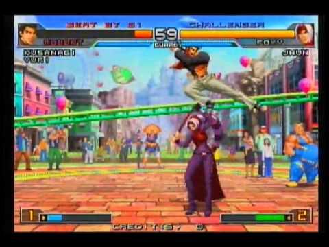 Kof2002UM Japan - Ocha/Kenya vs. Orinpia-kami/Akki/Mononofu/Yamazaki-kun/Akki - Part 81