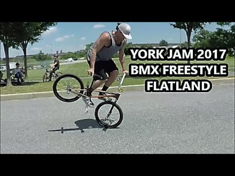 York Jam 2017 - BMX Freestyle Flatland Tricks