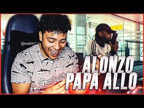 Alonzo - Papa allo (Clip Officiel) - REACTION