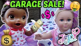 BABY ALIVE has a GARAGE SALE! …