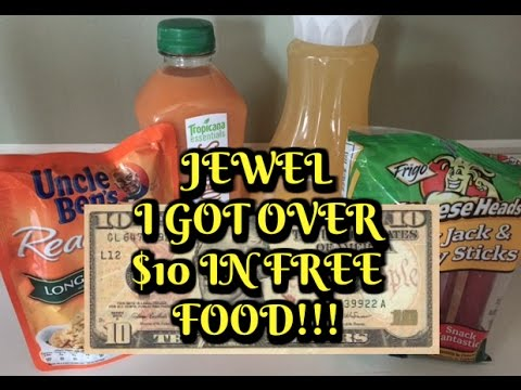 12/10/16:  Over $10 in Food Freebies at Jewel!!!