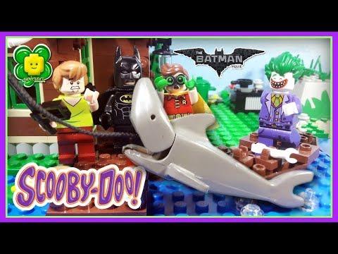 Scooby Doo The Lego Batman Movie Fishing Fail Joker Prank Stop Motion Animation