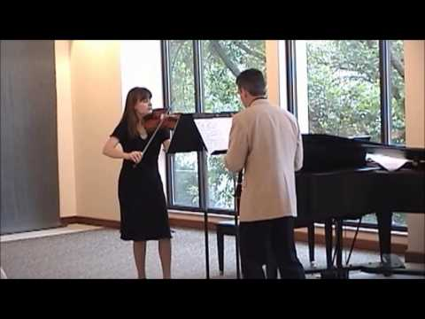 Charles de Beriot Duo Concertant for Violin and Clarinet (excerpt)