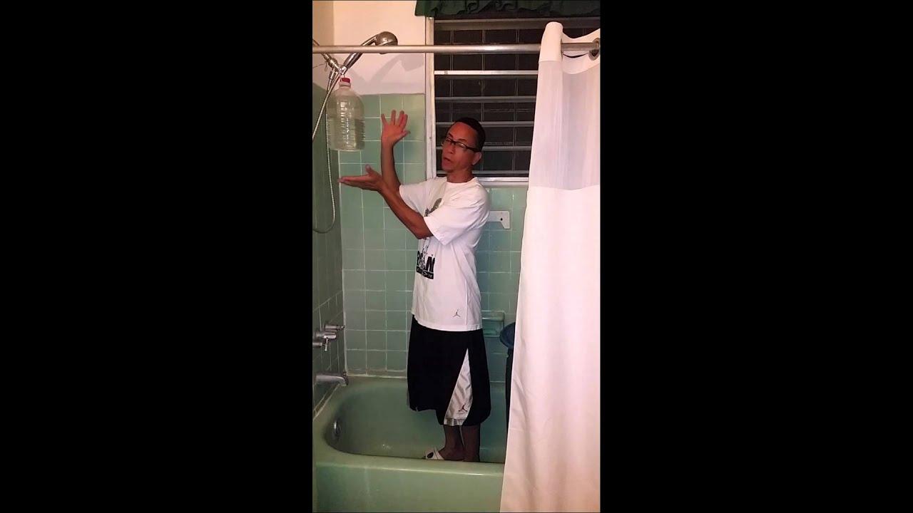 Remedio casero ducha port til - Como hacer una sauna ...
