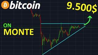 BITCOIN 9800$ ON MONTE ENCORE !? btc analyse technique crypto monnaie