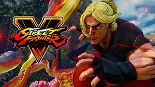 KEN GETS RANKED: Week Of! STREET FIGHTER 5 - Online Ranked