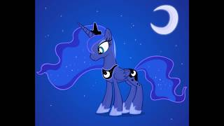 Drawing Princess Luna on Gimp