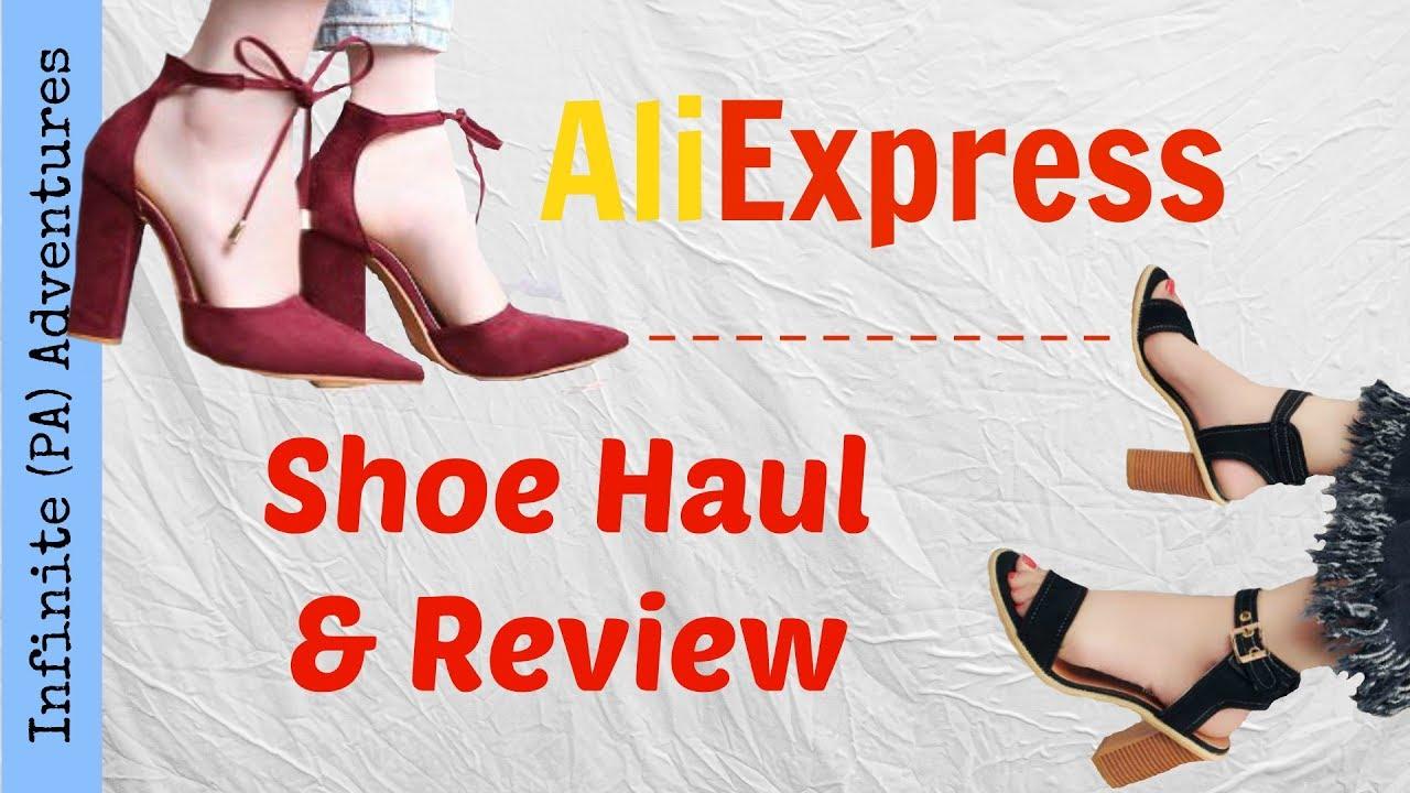 c11f9839d747 AliExpress Shoe Haul   Review - YouTube