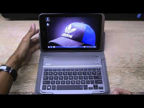 Acer Iconia W4 Bluetooth Keyboard Case Review