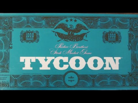 Ep. 42: Tycoon Board Game Review (Parker Brothers 1962)